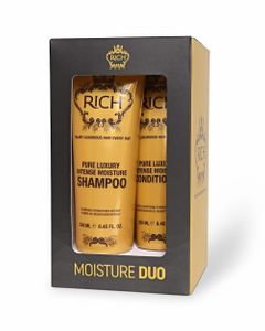 RICH Pure Luxury Intense Moisture Shampoo ja Hoitoaine DUO kit