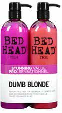 Tigi Bed Head Colour Combat Dumb Blonde Tweens Tuplapakkaus (750 ml) shampoo & hoitoaine