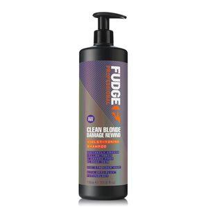 Fudge Clean Blonde Damage Rewind Violet Shampoo 1000 ml