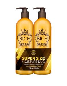 RICH Pure Luxury Intense Moisture Shampoo ja Hoitoaine DUO kit - 750 ml