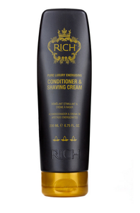 RICH Pure Luxury Energising Conditioner & Shaving Cream 200ml