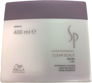 Wella SP Clear Scalp Mask - Intensiivihoito hilsettä vastaan 400 ml