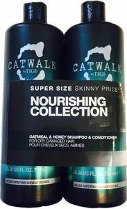 Tigi Catwalk Oatmeal & Honey Tweens Tuplapakkaus shampoo & hoitoaine (750 ml)