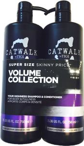 Tigi Catwalk Your Highness Tweens Tuplapakkaus shampoo & hoitoaine (750 ml)