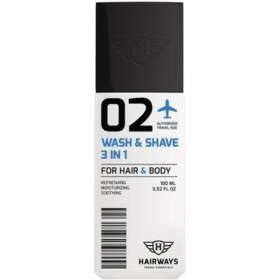 Hairways - 02 Wash & Shave 3 in1 100 ml