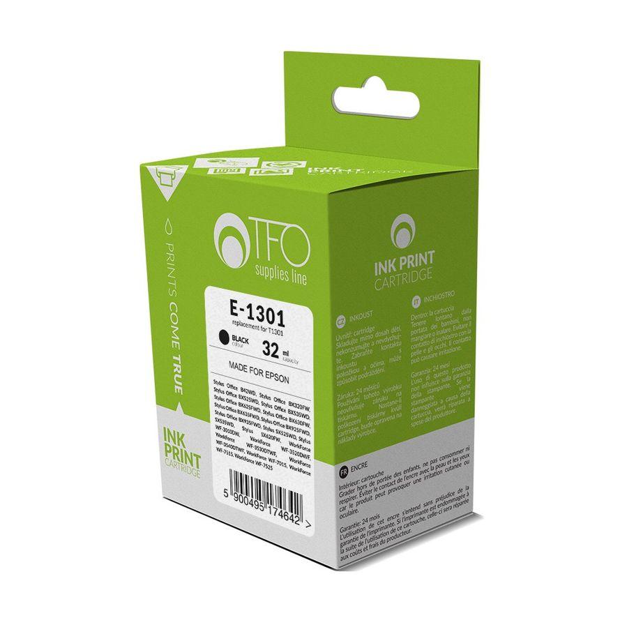 Tulostinmuste TFO E-1301 Epson T1301 / Bk 33ml - Musta