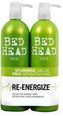 Tigi Bed Head Urban Antidotes Re-Energize Tweens Tuplapakkaus (750 ml) shampoo & hoitoaine