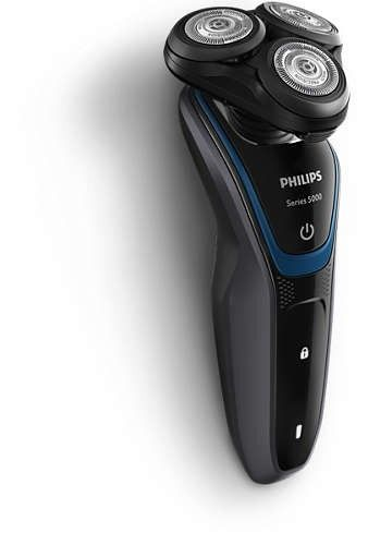 Philips S5100/06 parranajokone, musta