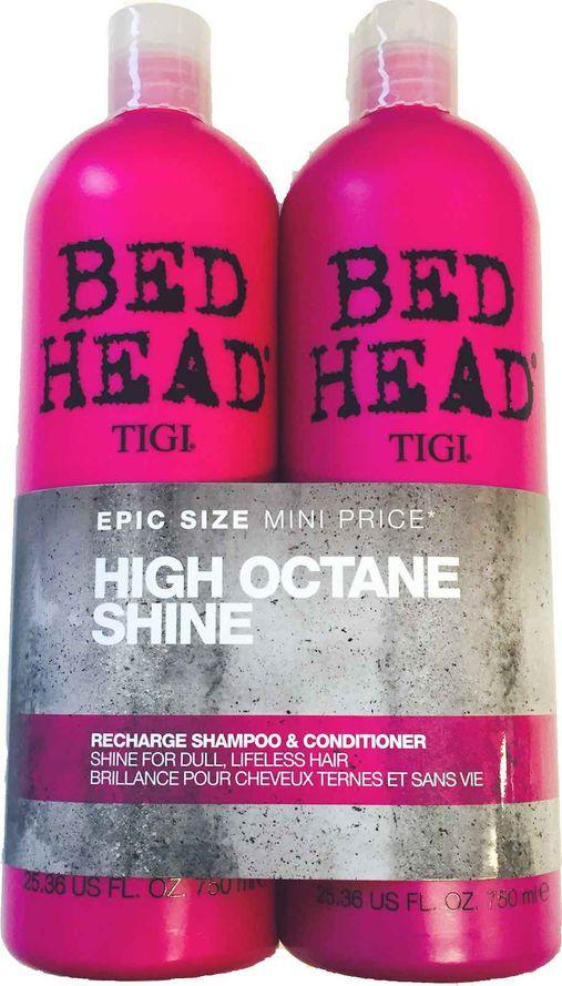 Tigi Bed Head Re-Charge Tuplapakkaus shampoo & hoitoaine (750 ml)